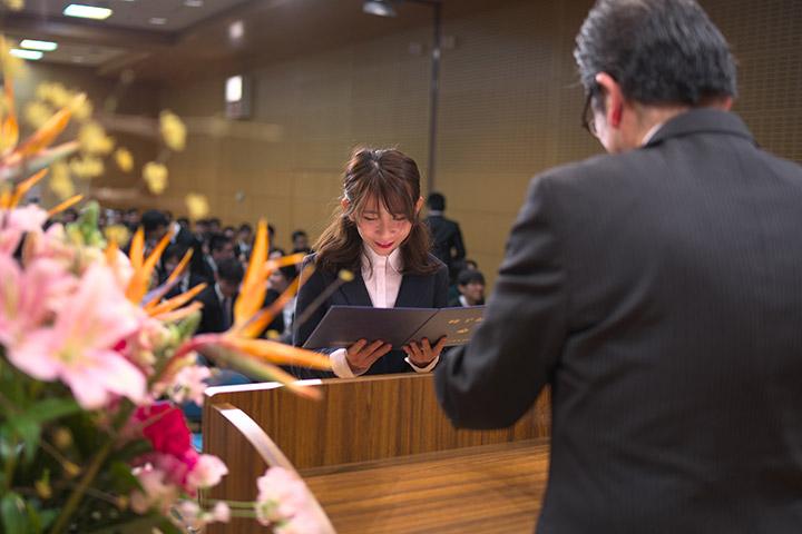 アジア学生文化協会 卒業式